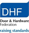 DHF Door and Hardware Federation logo