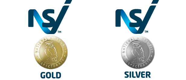 NSI Gold and Silver logos