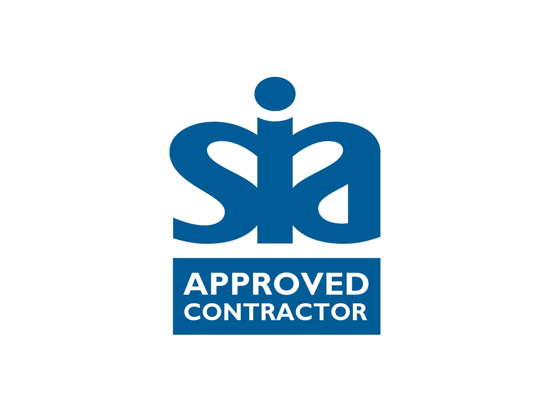 SIA approved contractor scheme logo