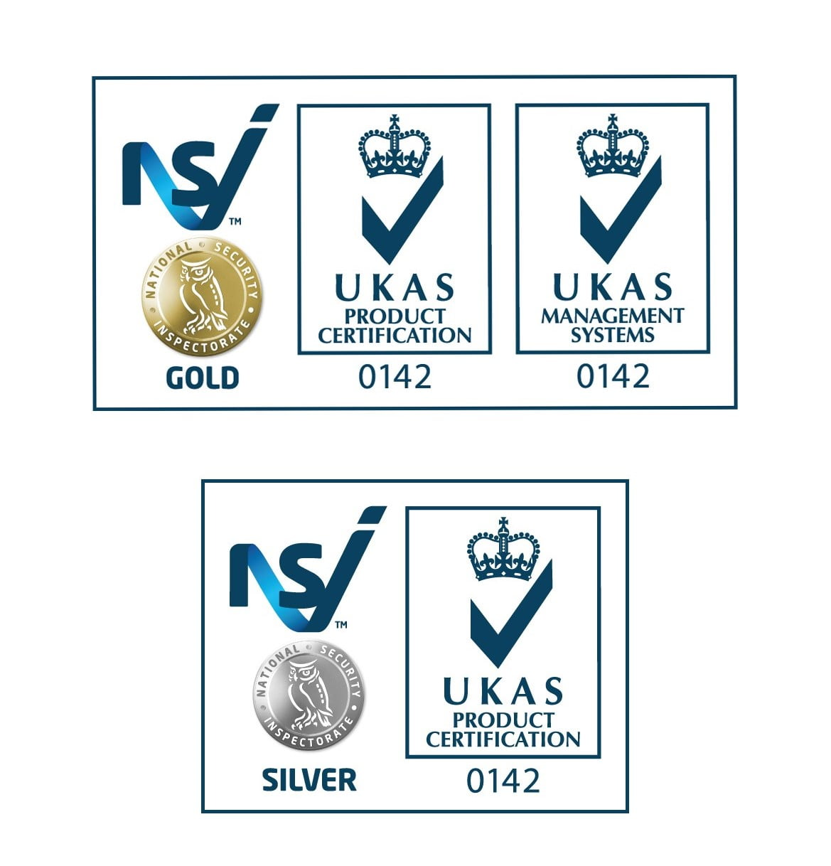 NSI UKAS accreditation