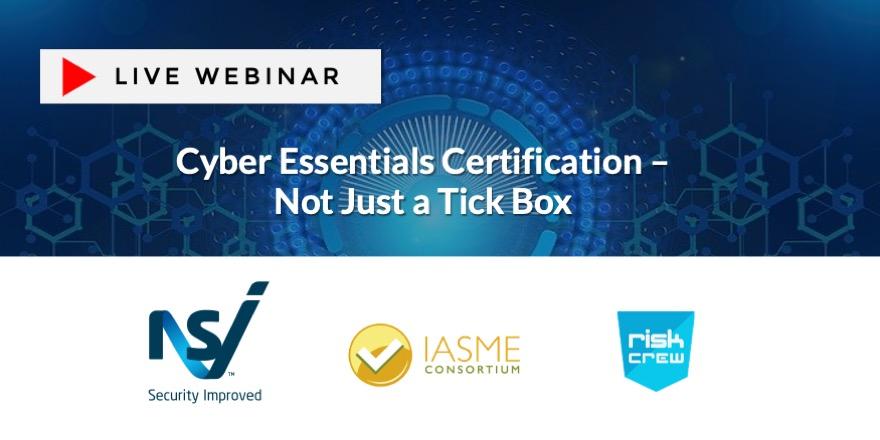 Not just a tick box - Cyber Essentials registration