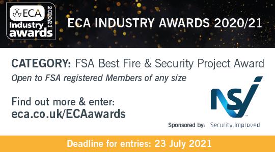 NSI sponsor of the ECA Awards